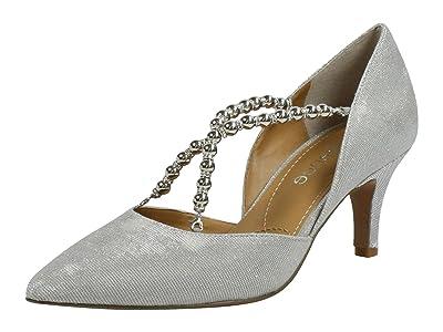 J. Renee Zayna (Silver Glitter) Women