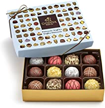 Godiva Chocolatier Patisserie Chocolate Truffle Gift Box, Assorted Truffle Desserts, Great for Gifting, Gifts for Her, Chocolates, 12 pc