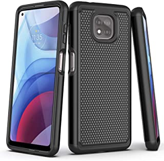 Aoways Case for Motolora G Power 2021, Armor Heavy Duty Rugged Rubber Full Body Shockproof Protective Case for Moto G Powe...