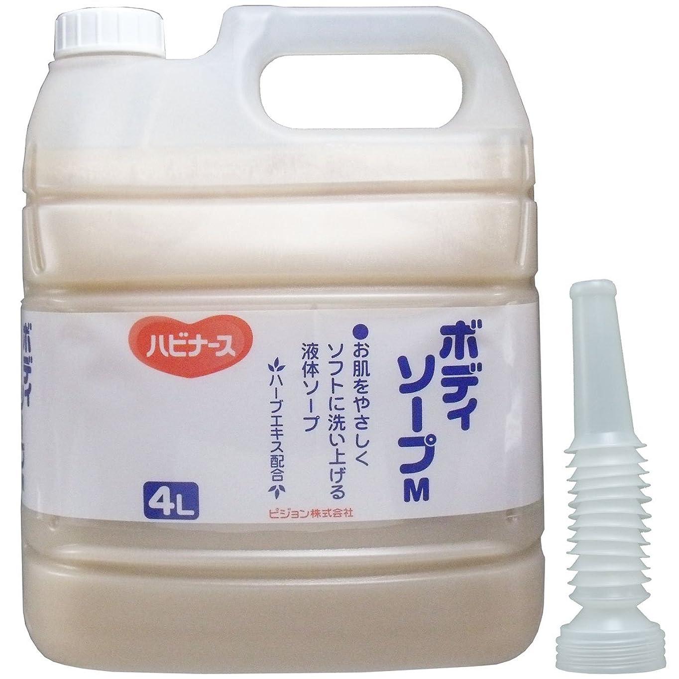 沈黙雄弁家ダニハビナース ボディソープM 業務用 4L【2個セット】
