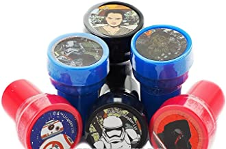 ITISMINE 10 Pieces Self Inking Stamper Disney Pixar Nickelodeon Birthday Goody Gift Party Favors Supplies (Star Wars)