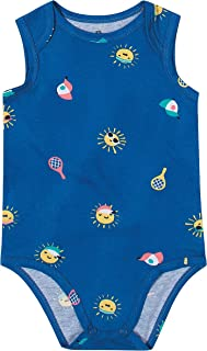 Body Praia Em Malha Malwee Kids, Azul , criança-unissex, G
