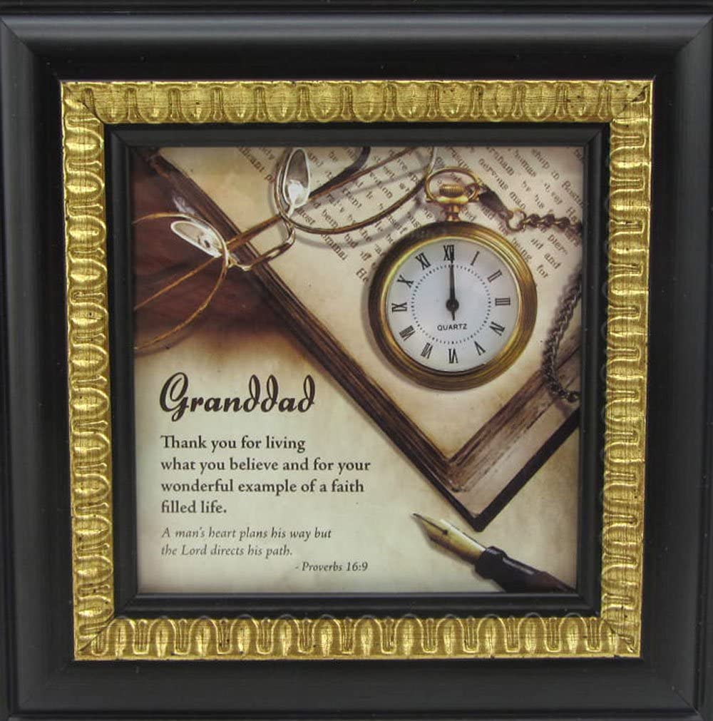 Grandad Clock and Picture Pocket Watch Dealing Nippon regular agency full price reduction or Desk Proverbs Table