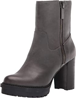 Lucky Brand Women's BAJAX Fashion Boot, Gunmetal numeric_6_point_5