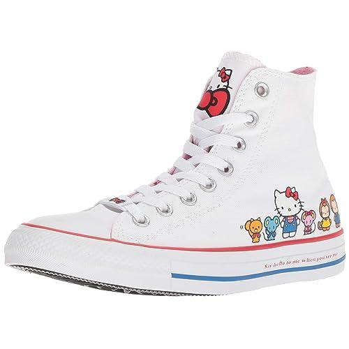 096729389 Converse Chuck Taylor All Star Lo Hello Kitty Fashion Sneakers
