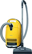 Miele 41GFE036USA Complete C3 Calima Canister Vacuum, Canary Yellow
