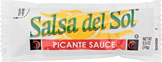 Salsa Del Sol Picante Sauce (0.5 oz Packets, Pack of 200)