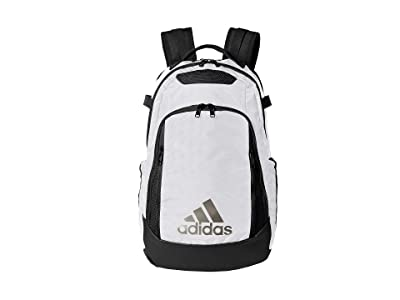 adidas 5-Star Team Backpack (White/Black) Backpack Bags