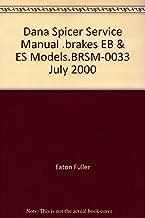 Dana Spicer Service Manual .brakes EB & ES Models.BRSM-0033 July 2000