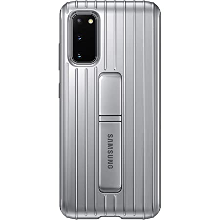 Samsung Protective Standing Ef Rg980 Smartphone Cover For Galaxy S20 S20 5g Mobile Phone Case With Fold Out Stand And Grip Surface Silver Elektronik