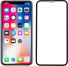 POPIO Tempered Glass for Apple iPhone X; iPhone XS; iPhone 11 Pro (Black) Edge to Edge Full Screen Coverage