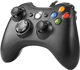 XBOX 360 コントローラー Chayoo 有線 ゲームパッド PC コントローラー Microsoft Xbox&Slim 360 PC Windows 7に対応 二重振動 人体工学 ゲームコントローラー
