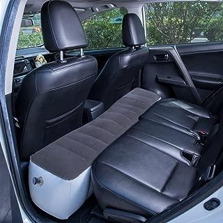 FMS Car Travel Inflatable Mattress Back Seat Gap Pad Air Bed Cushion Camping Air Couch (Gray)