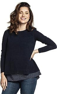 Torelle Maternity Wear ETIEN - Jersey de lactancia azul oscuro. XL