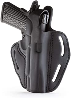 """1791 GUNLEATHER 1911 Holster - Thumb Break Leather Holster - Cocked and Locked Carry - Right Hand OWB Holster for Belts - Fit 4"""" and 5"""" Barrels"""