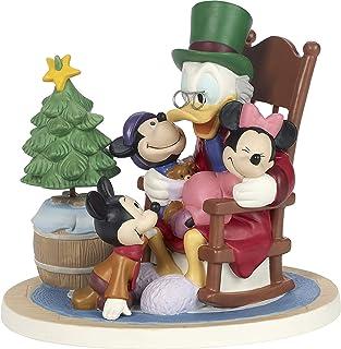 Precious Moments Company Precious Moments Disney Showcase Mickey's Carol Merry Christmas One & All Bisque Porcelain 181701...