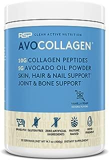 RSP Nutrition Vanilla Bean Avocollagen, 14.1 OZ