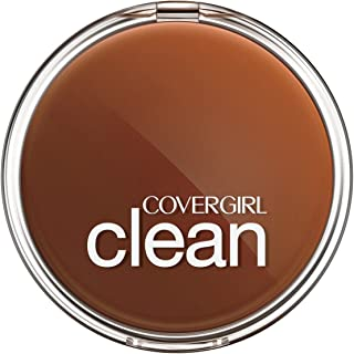 COVERGIRL Clean Pressed Powder Foundation Classic Beige.39 oz (packaging may vary)
