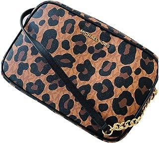 Jet Set Large EW Crossbody Leopard Animal Print Xbody Bag