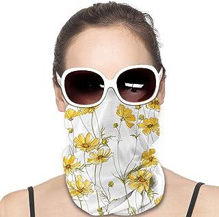 HomeLEE pingvin unisex heltäckande tub ansiktsmask bandanas UV-skydd halsdamask pannband, UPF 50+ tyg
