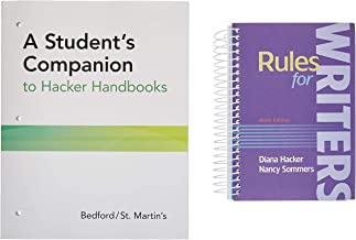 Rules for Writers with Writing about Literature (Tabbed Version) 9e & a Student's Companion to Hacker Handbooks