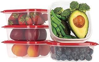 Oursson Ensemble de boîtes de Rangement Alimentaires À Usage Multiple-Lot de récipients Alimentaires en Plastique sans BP...