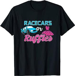 Racecars Or Ruffles Shirt - Gender Revel T-Shirt