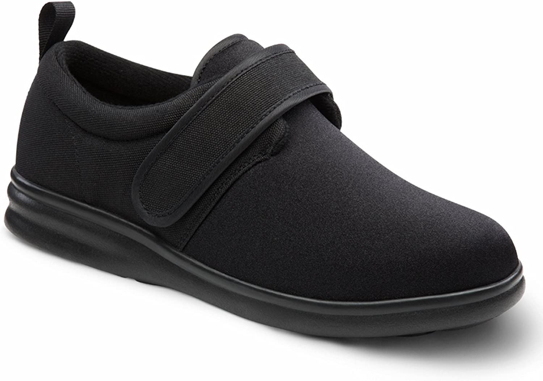 Dr Comfort Carter Men's Therapeutic Diabetic Extra Depth shoes Lycra Velcro