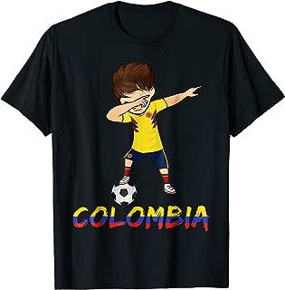 Colombia Dabbing Shirt, 2018 Football Kit, Soccer Jersey