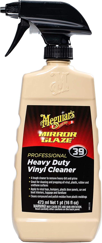 Meguiar's M3916 Mirror Glaze Heavy Duty Vinyl Cleaner, 16 Fluid Ounces: Automotive
