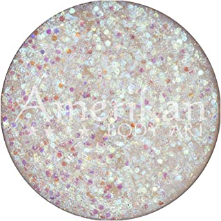 Amerikan Body Art Glitter Creme - Biosphere (10 gm), Cosmetic Polyester Glitter in Creamy Base, Great for Face Paint, Glam...