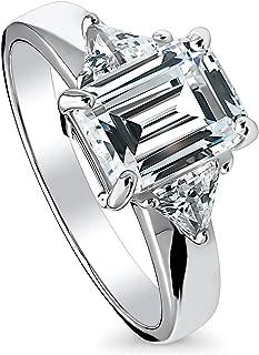 trillion cut black diamond ring