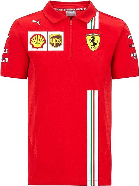 2020 Scuderia Ferrari F1 Team T Shirts Vettel Leclerc In Mens Ladies Kids Sizes Amazon Co Uk Sports Outdoors