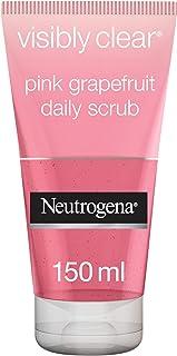 Neutrogena Face Scrub, Visibly Clear, Pink Grapefruit, 150ml