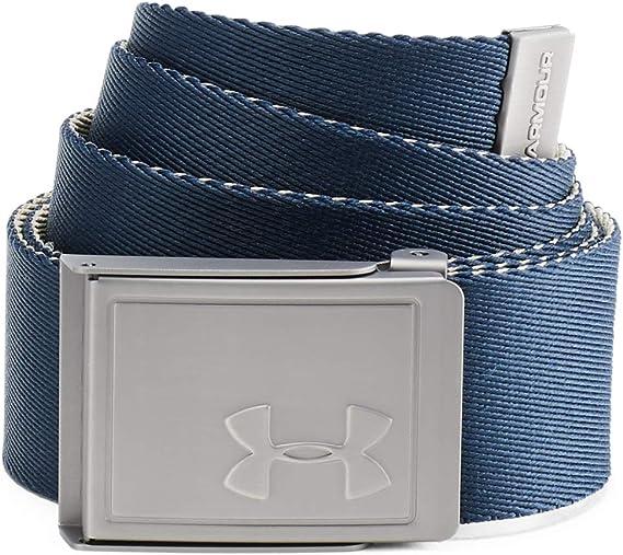 TALLA Talla única. Under Armour Ua Men's Webbing 2.0 Belt cinturón para hombre, accesorio para hombre Hombre