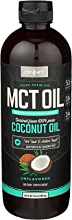 Onnit MCT Oil - Pure MCT Coconut Oil, Ketogenic Diet and Paleo Optimized with C8, C10, Lauric Acid - Perfect for Coffee, S...
