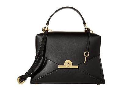 ZAC Zac Posen Amelia Satchel (Black) Handbags