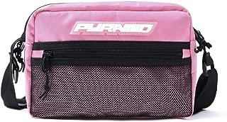 Black Pyramid Tech Sling Bag, Pink, One Size