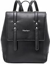 Myhozee Rucksack Damen Klein Cityrucksack Elegant Tagesrucksack PU Leder Schulrucksäcke Daypack Diebstahlsicher Taschen fü...