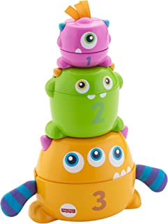 Fisher-Price Stack & Nest monstruos, multicolor