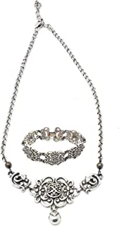 Brighton Vintage Necklace Earring Set