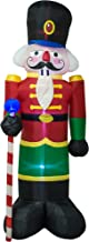 AJY 8-Feet Christmas Inflatable Soldier Holiday Lighted Blow up Yard Decoration 8ft Tall Inflatable Indoor Porch Outdoor D...