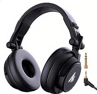 BINDEN Audifonos de Estudio MH60 Headset Over Ear Alambricos con Sonido de Alta Fidelidad Auriculares para DJ Cómodos Resi...