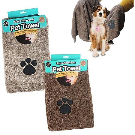 Details about  /Cute animal towel bath towel bath towel pet supplies