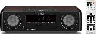 ヤマハ デスクトップオーディオシステム CD/USB/ワイドFM・AMラジオ Bluetooth aptX AAC 対応 クロックオーディオ ブラック TSX-B235(B)