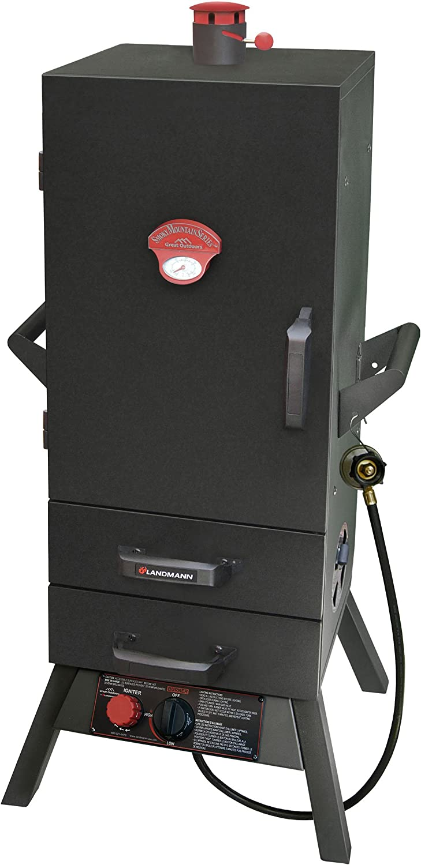 Landmann USA 3495GLA Smoky Mountain greenical Gas Smoker, 34in