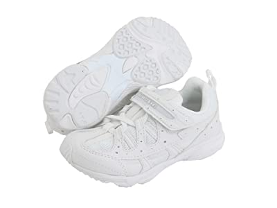 Tsukihoshi Kids Speed (Toddler/Little Kid) (White/White) Boys Shoes