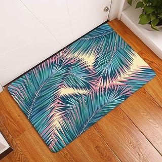 Outdoor DoormatsPrint Decorative Entrance Doormat Anti Slip Bathroom Rug Absorbent Kitchen Carpet Tropical Style Home Deco...