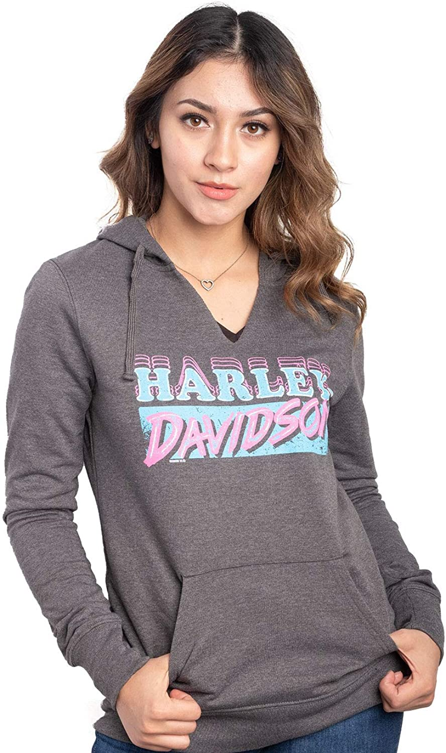 lowest price Harley-Davidson Womens Freeway Indianapolis Mall Fantasy Sl Charcoal Pullover Long