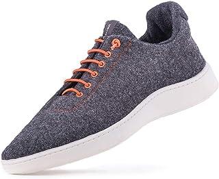 Baabuk Urban Wooler Sneaker (38 D EU, Orange)